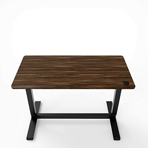 Kraftdale-Electric-Standing-Desk-Height-Adjustable-Sit-Stand-DeskWork-from-Home-Ergonomic-Computer-Desk-with-One-Piece-Desktop-48-x-24-inch-Dark-Walnut