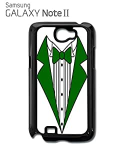 Tuxedo Suit Bow Tie Mobile Cell Phone Case Samsung Note 2 White