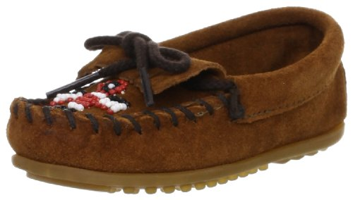 Minnetonka Thunderbird II (Toddler/Little Kid/Big Kid),Brown,4 M US Big - Kids Minnetonka