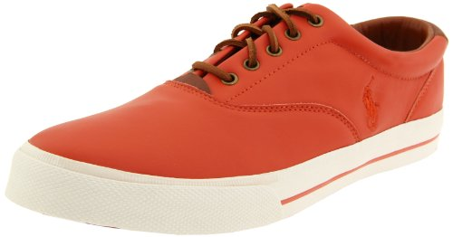Polo Ralph Lauren Heren Vaughn Fashion Sneaker Diep Oranje