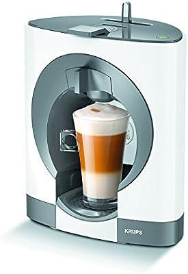 Krups Dolce Gusto Oblo KP1101 - Cafetera de cápsulas, 15 bares de presión, color blanco (Reacondicionado): Amazon.es ...