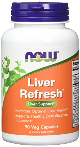 NOW Liver Refresh Veg Capsules