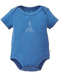 Unisex Baby Neutral Organic Cotton Lap Shoulder Bodysuit by Finn + Emma