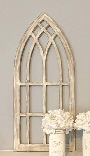(Farmhouse arched window frame)