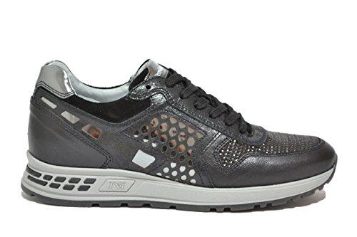 Nero Giardini Sneakers scarpe donna nero 6182 A616182D