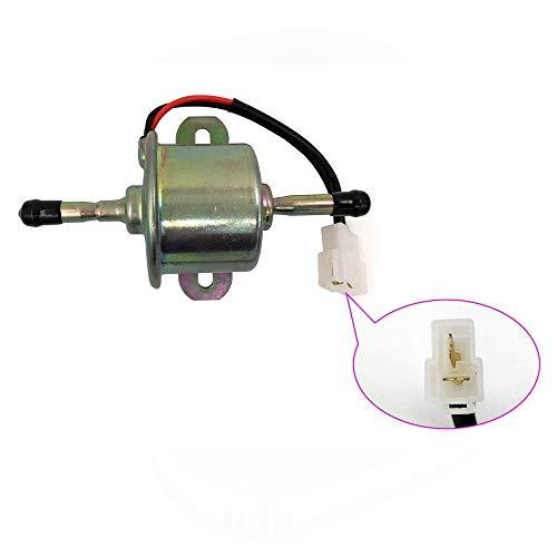 (New 12V Diesel Electric Fuel Pump For Kubota BX2360 BX25 RC601-51352 RC601-51350 R1401-51350 R1401-51352)