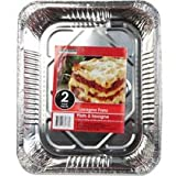 48 Pack - Cooking Concepts Foil Lasagna Pans, 2-ct. Packs