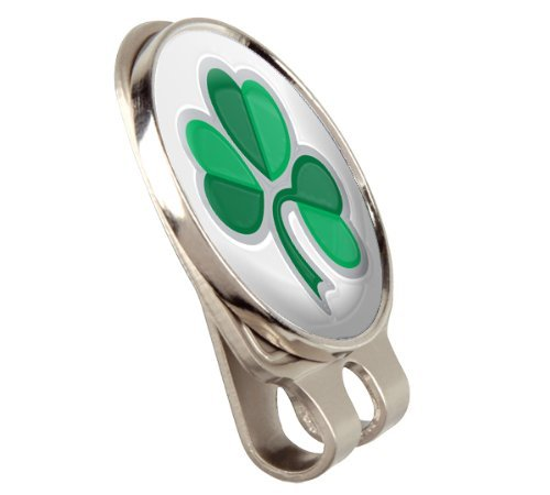 ASBRI Irish Shamrock Fusion Cap Or Hat Clip And Magnetic Golf Ball Marker Golf