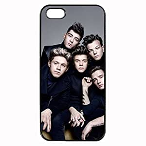 One Direction Band All Members - Black Case - Custom Personlized Tpu Durable Rubber Silicone Case Cover Skin For iPhone 5 5S