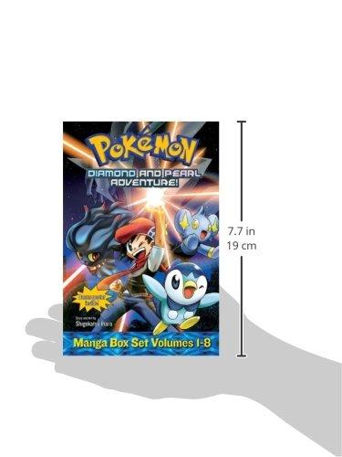 Pokémon Diamond and Pearl Adventure! Box Set (Pokemon) by VIZ Media, LLC (Image #4)