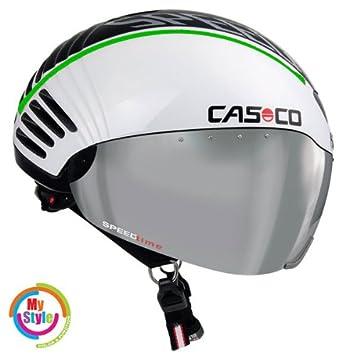 Casco Speed time contrarreloj - triatlón-casco con carcasa, 55-61 cm=