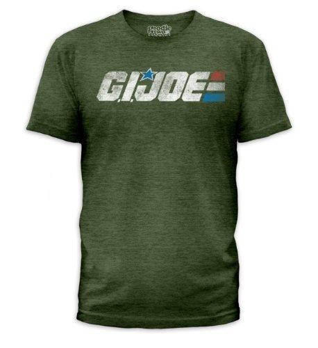 G. I. Joe G.I. Joe - Retro Logo (slim fit) T-Shirt Size L, Large from G. I. Joe