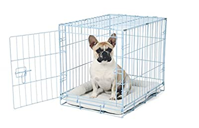 Single Door Metal Dog Crate Carlson Pet Deluxe Pet Crate - Small by Pet Kennels