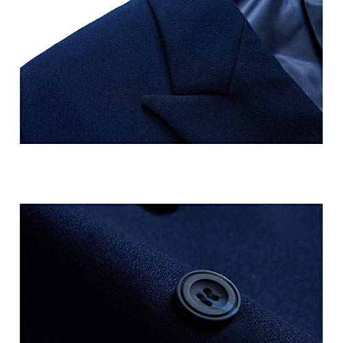 À cultivation Double Rlrl Pièces Photographie Coréen Boutonnage Black Trois Self Britannique Costume Style pxzfqTO