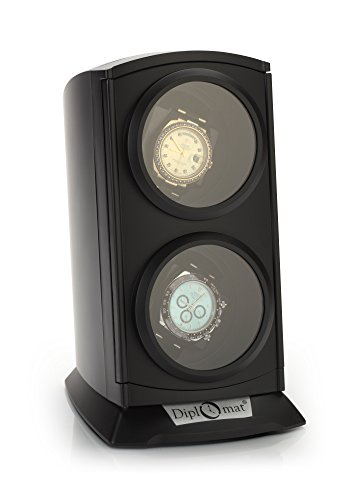 Watch Slot Winder (Diplomat 31-497 Matte Black Finish Watch Winder)