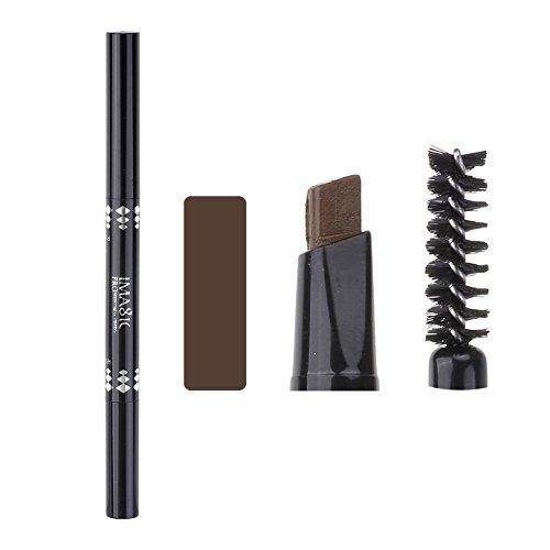 Ayliss® IMAGIC Permanent Augenbrauenstift Brauenstift Eyebrow Pencil, Wasserfest Matt #BKRB003 Braun