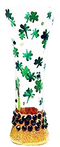 Santa Barbara Design Studio Luck of The Irish Lolita Sexy Shooter Glass, Multicolor
