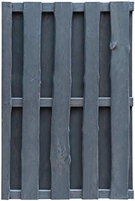 ghuanton Puerta de Valla Madera de Pino impregnada FSC 100x150 cm grisBricolaje Vallas de jardín Puertas de jardín: Amazon.es: Hogar