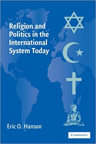 Book Religion and Politics in the International System Today