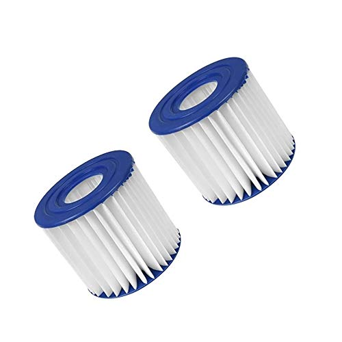 Summer Waves P57100102 Swimming Pool Pump Filter Cartridge, Type D Pack of 2