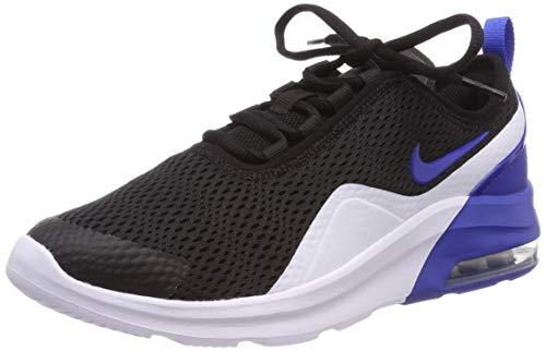 (Nike Boy's Air Max Motion 2 Shoe Black/Game Royal/White Size 5.5 M US)