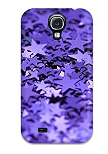 New Arrival Glittery Stars For Galaxy S4 Case Cover