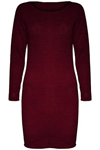 fine knit jumper dress - 5