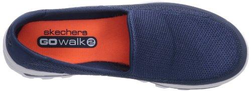 Skechers Go Walk 2, Zapatillas Para Hombre Azul (Navy/Gris)