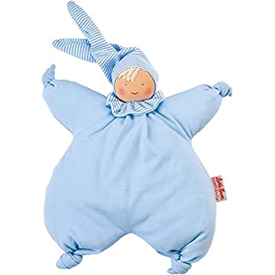 Kathe Kruse - Organic Gugguli Doll, Light Blue : Baby