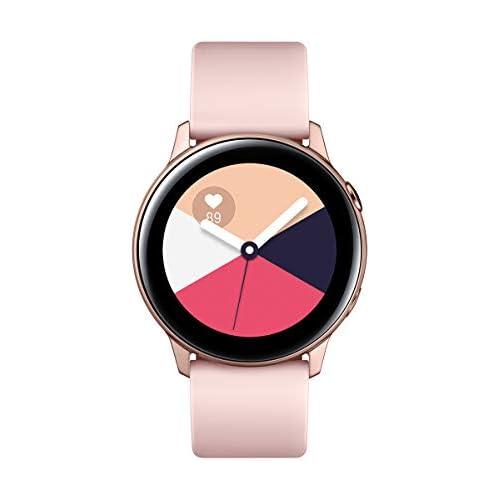 chollos oferta descuentos barato Samsung Galaxy Watch Active Smartwatch 1 1 40mm Tizen 768 MB de RAM Memoria Interna de 4 GB Color rosa Versión Española