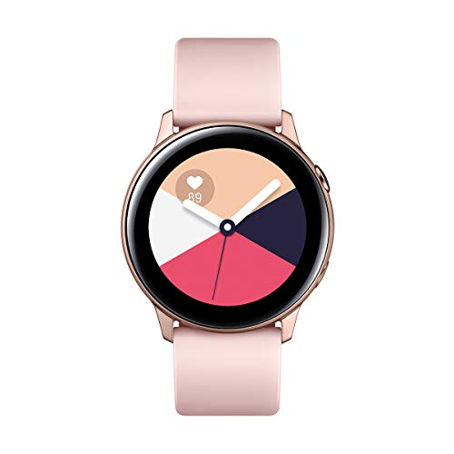"Samsung Galaxy Watch Active – Smartwatch (1,1"",40mm, Tizen, 768 MB de RAM, Memoria Interna de 4 GB), Color rosa…"