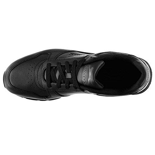 Sneaker Slazenger Dunkelgrau uomo Nero Schwarz dwXYYxaBq