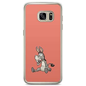 Loud Universe Pink Donkey Cute Funny Samsung S7 Edge Case Shrek Donkey Samsung S7 Edge Cover with Transparent Edges