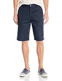 Volcom Men's Frickin Chino Short, Dark Navy, 38