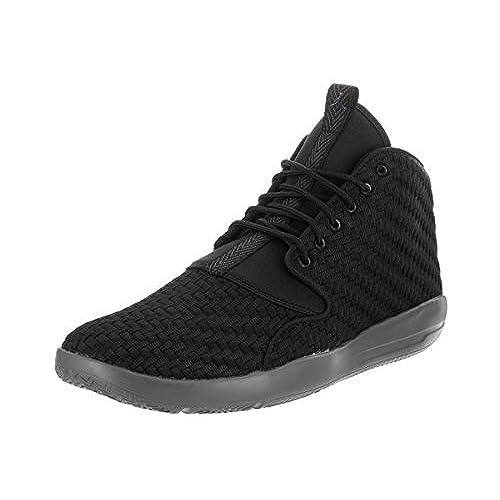 2d7b5a53167d well-wreapped Nike Jordan Men s Jordan Eclipse Chukka Black Black Dark Grey  Basketball Shoe