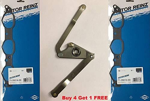 (Mercedes Benz Intake Manifold Aluminum Metal Air Swirl Flap Runner Repair Kit M272 V6 Gasket RK09 C230 C250 C280 C300 C350 CLK 350 E280 E300 E350 GLK350 ML350 ML450 R350 S400 SLK280 SLK300 SLK350)
