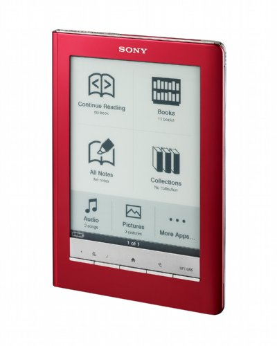 UPC 027242805163, Sony Reader Touch Edition - Red (PRS650RC)