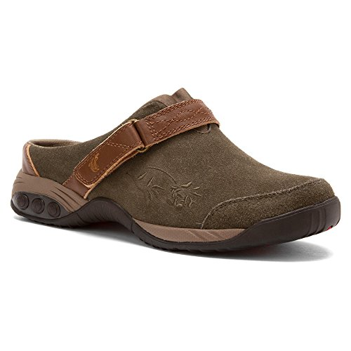 Image of the Therafit Shoe Women's Austin Clog Slip On (8.5, Taupe)