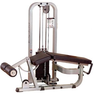 Pro Club SLC400G Leg Curl Machine with a 310 lb Weight Stack by Pro Club