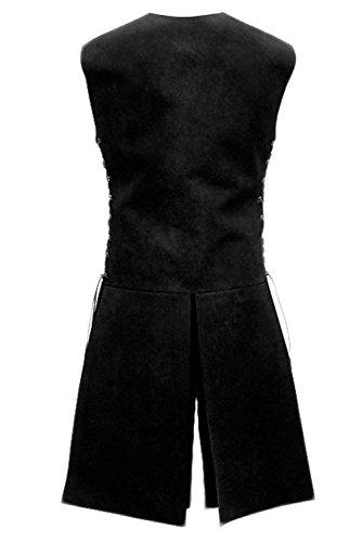 Pingstore Men's Medieval Sleeveless Waistcoats Costume Renaissance Victorian Waistcoats Vests by Pingstore (Image #2)