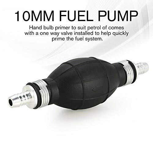 Hot Fuel Pump Hand Primer Bulb Fuels Used Cars Ship Boat Marine Diesel Gas Petrol Engine Oil, Rubber Hand Primer In-line…