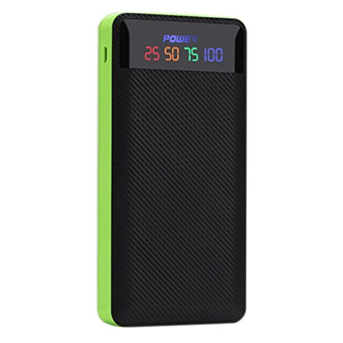 Rucan 2.1A Dual USB Power Bank Case 6x18650 Battery Charger DIY Box Case Kit for Phone (B)