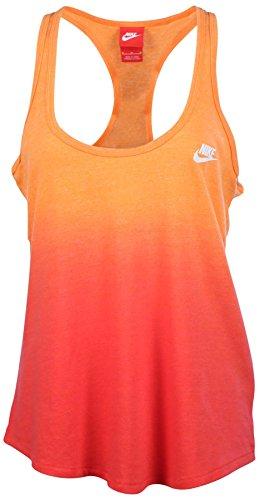 Nike Gym Vintage Dip Dye Sport Casual d¨¦bardeur Orange petit (S)