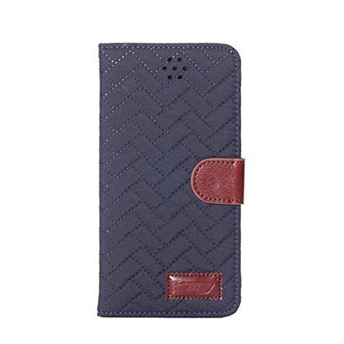 iPhone 6 Hülle,Apple iPhone 6 Hülle (4.7 Zoll) Lifetrut®[GZ Hellblau] Flip Case mit lebenslanger Garantie + Kartenfächern & Standfunktion