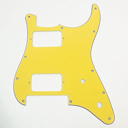 Charvel SO CAL Style Replacment Guitar Pickguard ,3ply Yellow (Pickguard Floyd Rose)