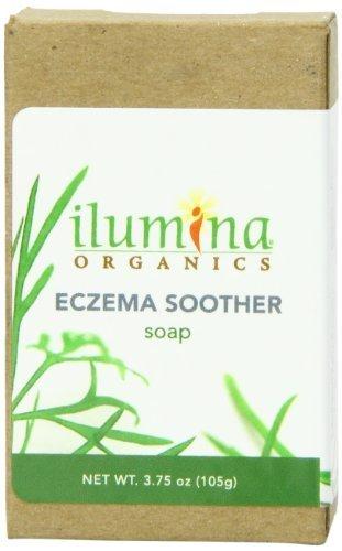 Amazon.com: Ilumina Organics eccema chupete jabón, 3.75 ...