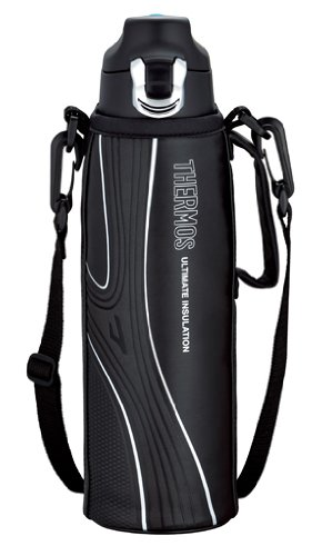 THERMOS Sports FFF-1500F-BK Black | Stainless Thermos 1.5 liter (50.7 oz.) (Japanese Import) by Thermos