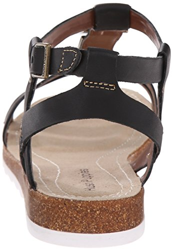 Hush Puppies Ladies Sandali Con Plateau In Giada Breta Nero (nero)
