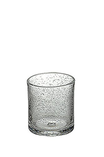 Artland Iris Double Old Fashioned Glasses, Clear, Set of 4