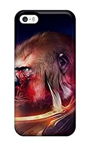 nazi diy Abikjack Fashion Protective Gorilla Drawing Case Cover For Iphone 5/5s